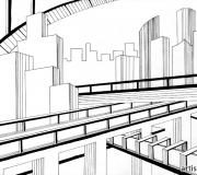 Графическое задание Мегаполис-2