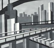 Графическое задание Мегаполис-3