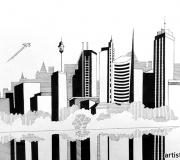 Графическое задание Мегаполис - 6