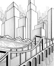 Графическое задание Мегаполис - 7
