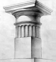 Рисунок капители. Фото-1