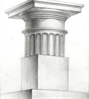 Рисунок капители. Фото-2