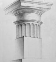 Рисунок капители. Фото-8
