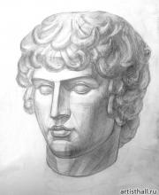 Рисунок Антиноя
