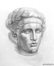 Рисунок головы Диадумена