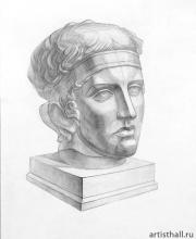 Диадумен рисунок головы