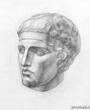 Рисование головы Диадумен