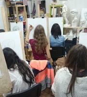 Рисование черепа на наших занятиях фото-1