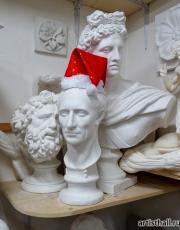 Цезарь празднует Новые год вместе с нами