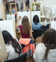 Занятия рисунком в нашей мастерской