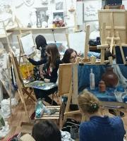 Уроки живописи в нашей мастерской