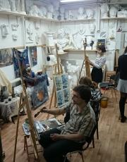 Курсы живописи в Москве. Фото-1