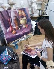 Курсы живописи в Москве. Фото-5