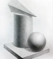 Рисование геометрических предметов