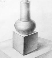 Рисование геометрических предметов. Виды постановок