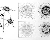 Стилизация растительных форм-8