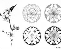 Стилизация растительных форм-9