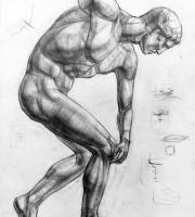 Рисунок Дискобол