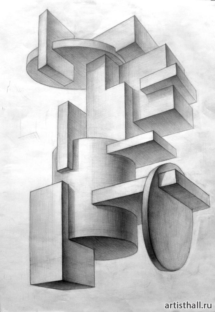 Геометрические врезки