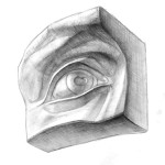 Рисование отдельных частей головы