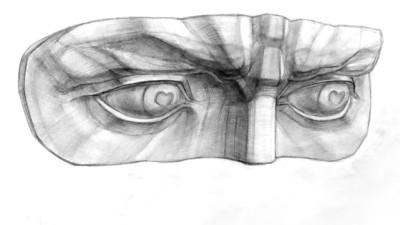 Рисование глаза
