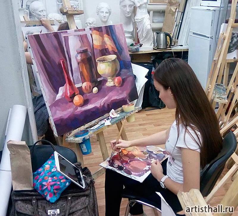 Наши уроки живописи