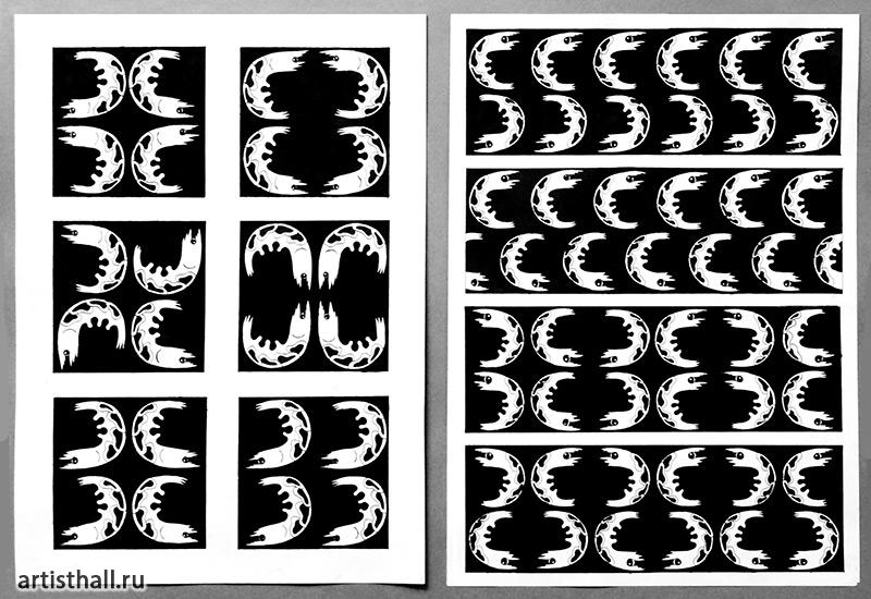 Уроки по построению орнамента