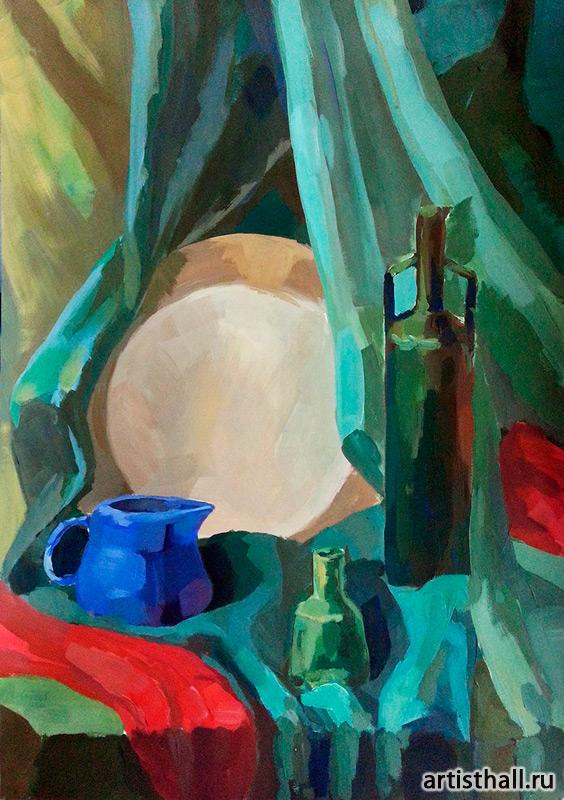 Обучение живописи для поступления в вуз