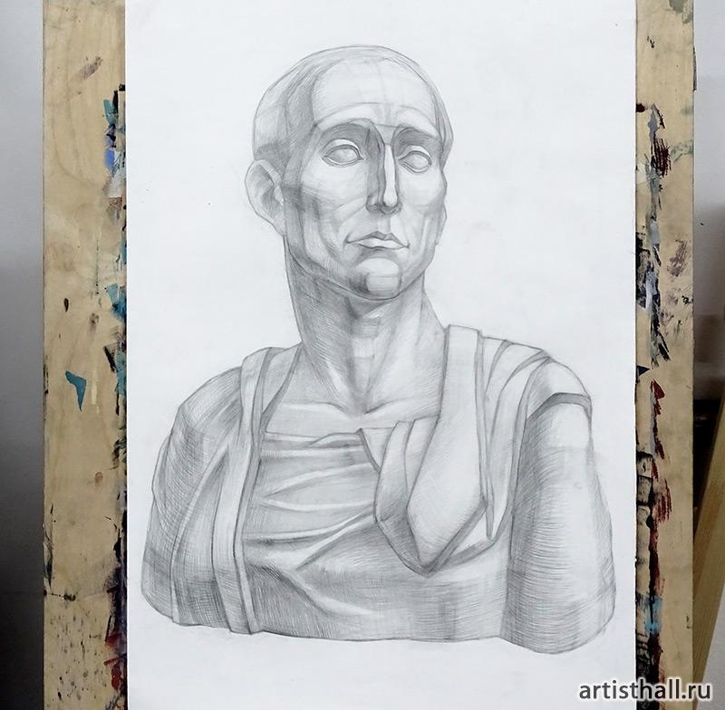 Рисунок Никколо, работа нашей ученицы