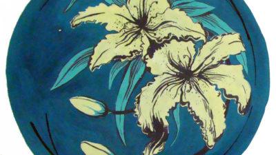 Стилизация растений в цвете