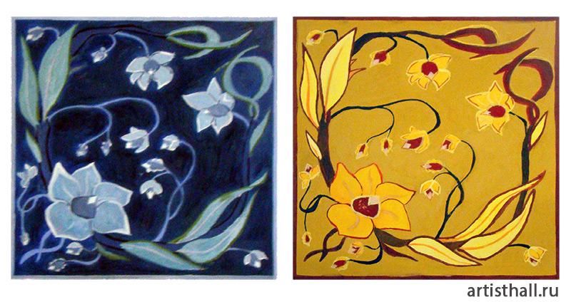 Задание по стилизации в цвете