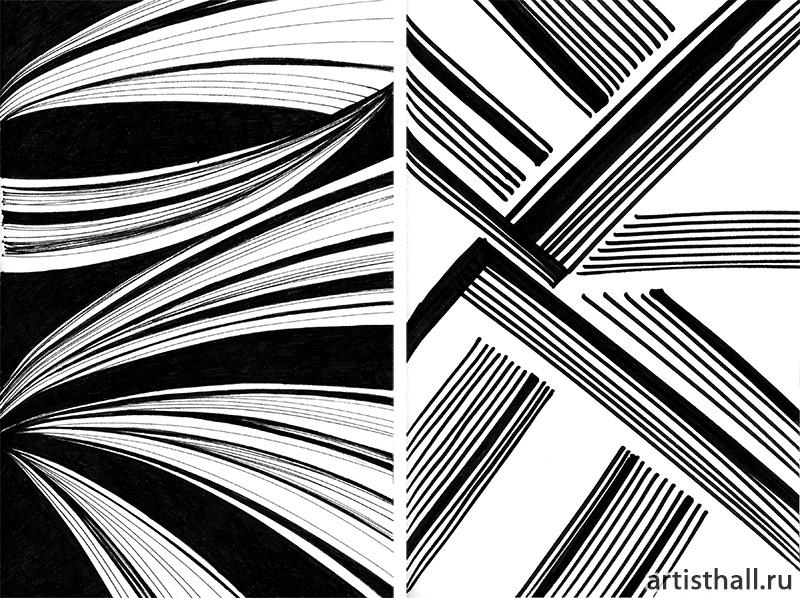 Графические линейные композиции
