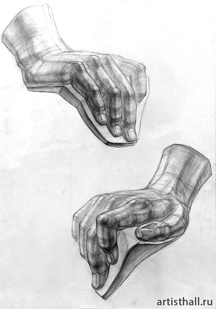 Рисунок кисти Давида