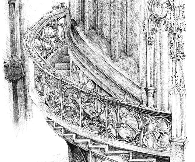 Серия графических работ Майи Половицкой